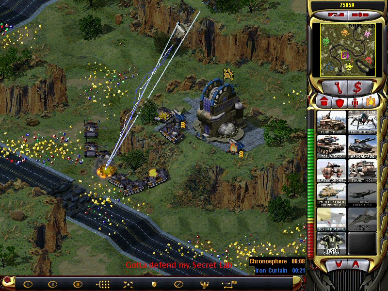 Red alert 2 yuri revenge allied mission 2